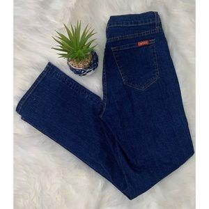 NYDJ Tummy Tuck Jeans Women Size 6 Waist Blue